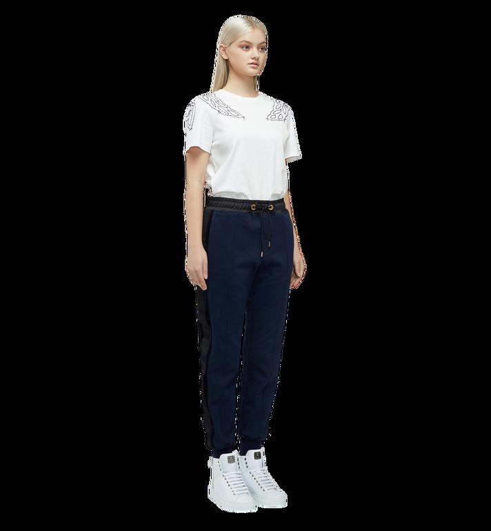 MCM Women's Laurel Stitch T-Shirt MFT8SMM22WI00S AlternateView4