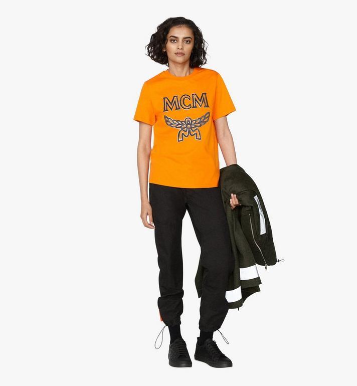 MCM Klassisches Damen-T-Shirt mit Logo Alternate View 4