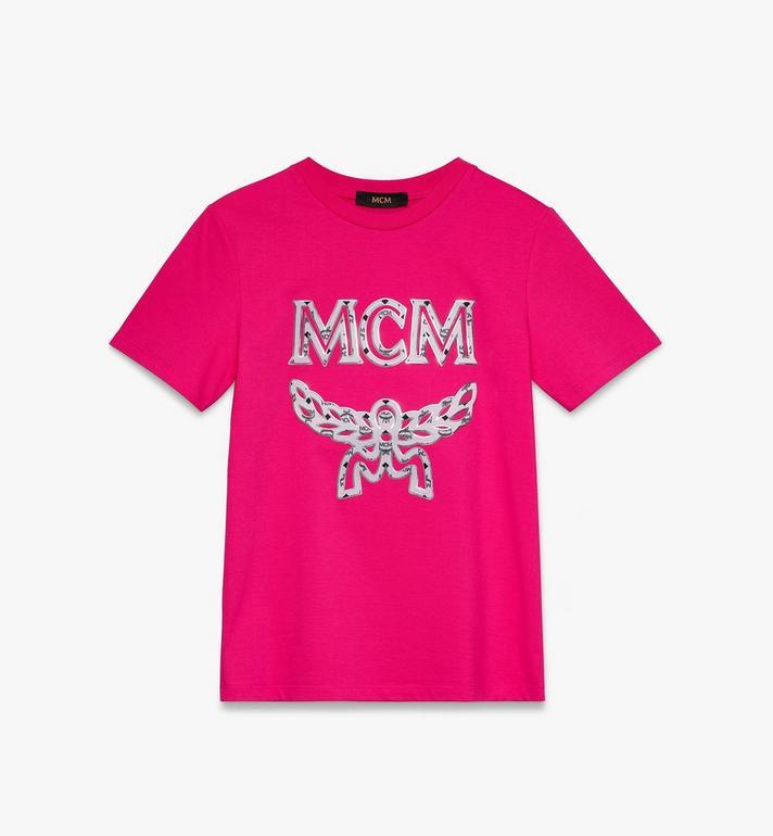 MCM Klassisches Damen-T-Shirt mit Logo Alternate View