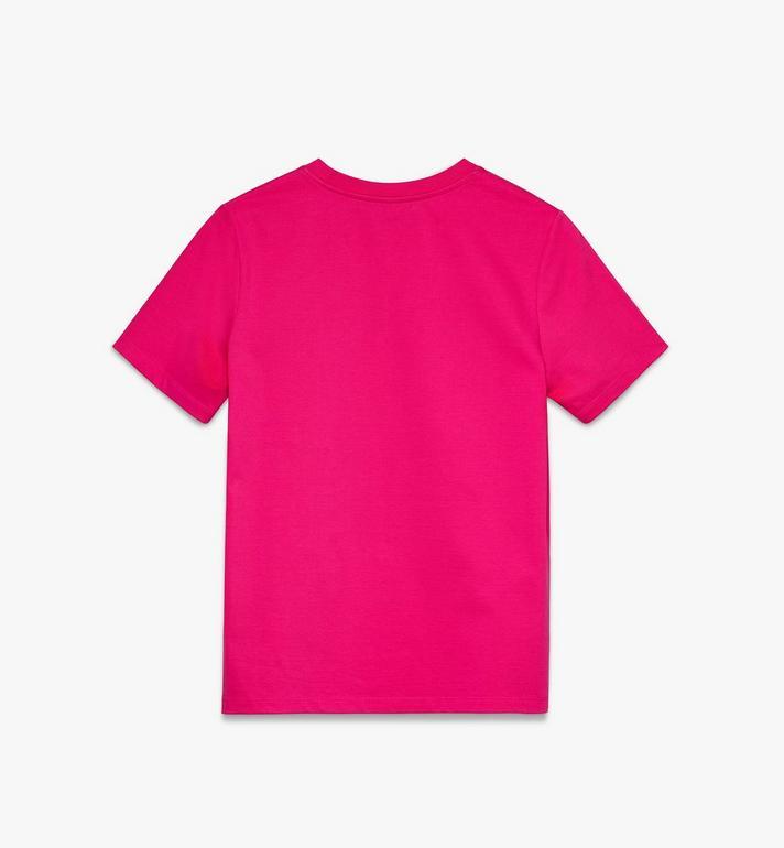 MCM Klassisches Damen-T-Shirt mit Logo Alternate View 2