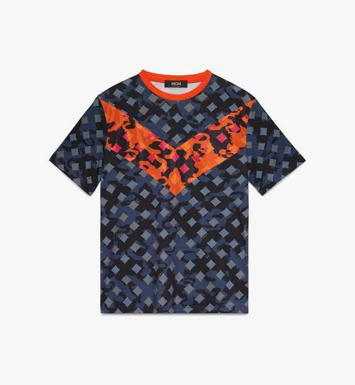 Damen-T-Shirt mit Camouflage-Print