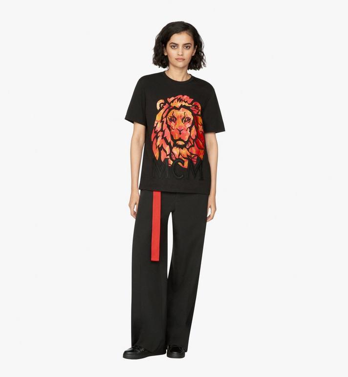 MCM Women's Munich Lion T-Shirt Alternate View 3