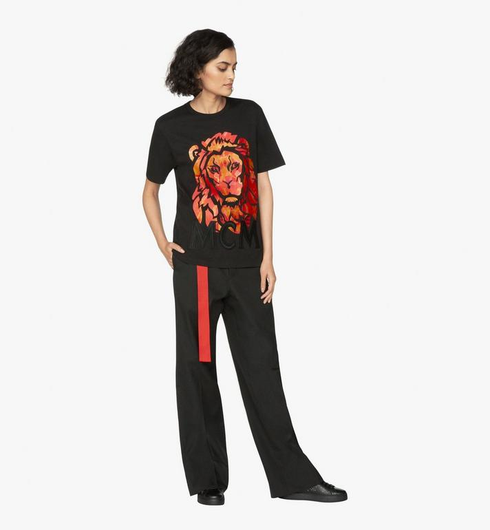 MCM Women's Munich Lion T-Shirt Alternate View 4