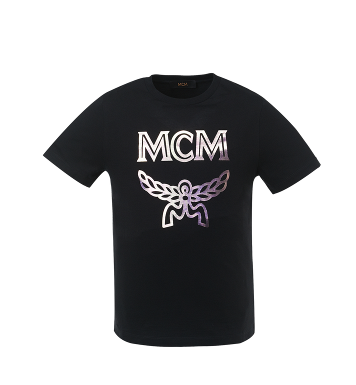 Women's Hologram Print Logo T Shirt by Mcm