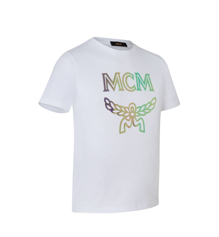 MCM Women's Hologram Print Logo T-Shirt Alternate View 2