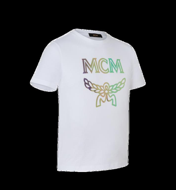 MCM Women's Hologram Print Logo T-Shirt AlternateView2