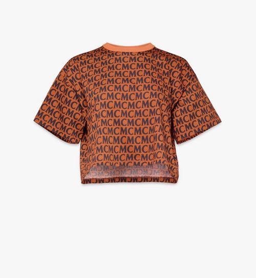 Women's Monogram Cropped T-Shirt