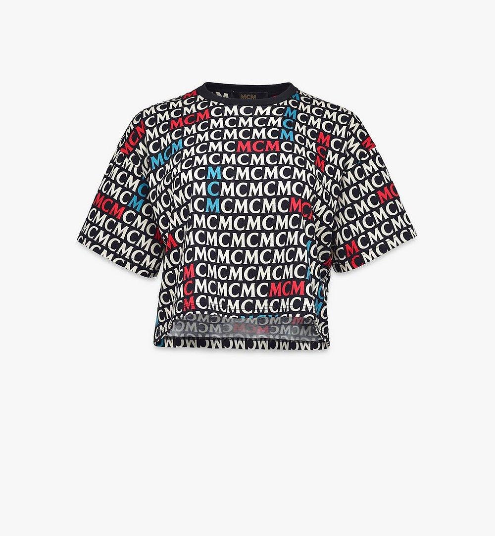 MCM T-Shirt mit Monogramm für Damen Black MFTAAMD01MW00L Noch mehr sehen 1