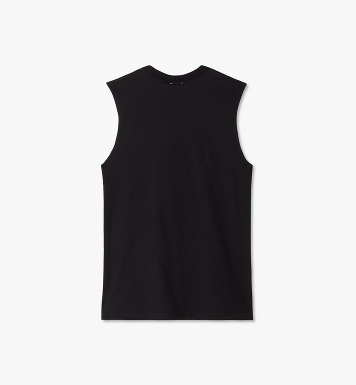 MCM Women's MCM x PHENOMENON Lux Sleeveless T-Shirt Black MFTASJP04BK00M Alternate View 2