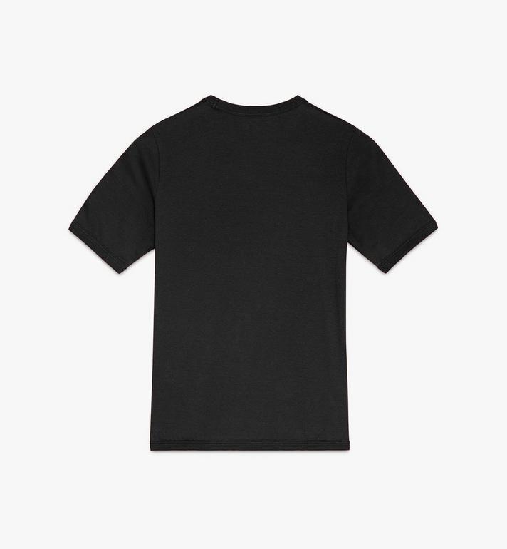 MCM Logo T-Shirt für Damen Black MFTASMM03BT00M Alternate View 2