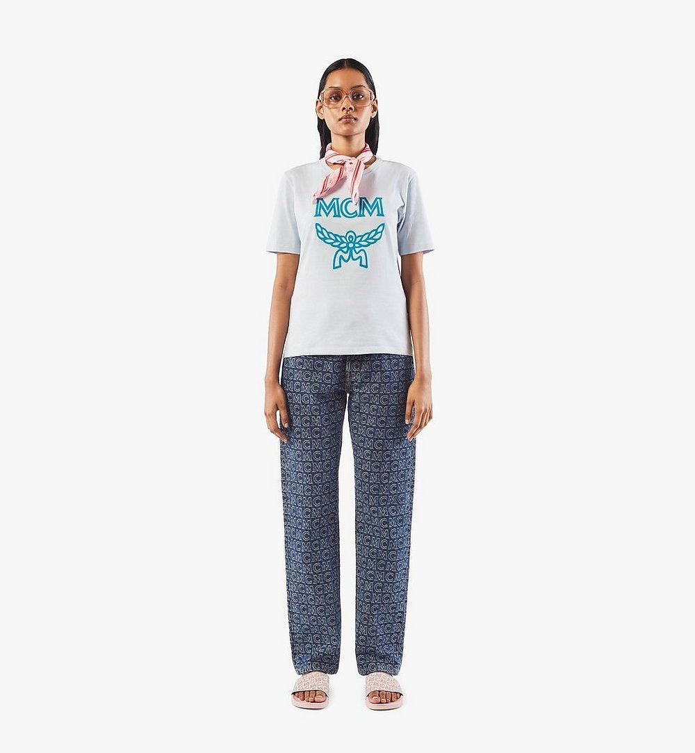MCM Klassisches Damen-T-Shirt mit Logo Black MFTASMM03H400S Noch mehr sehen 3