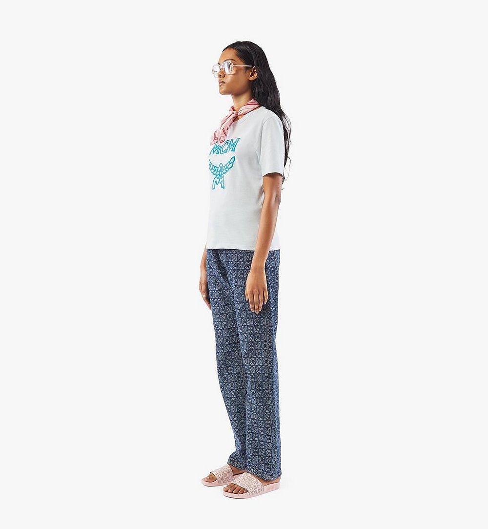 MCM Klassisches Damen-T-Shirt mit Logo Black MFTASMM03H400S Noch mehr sehen 2