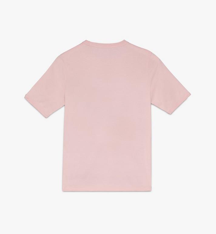 MCM Women's Logo T-Shirt White MFTASMM03IH00S Alternate View 2