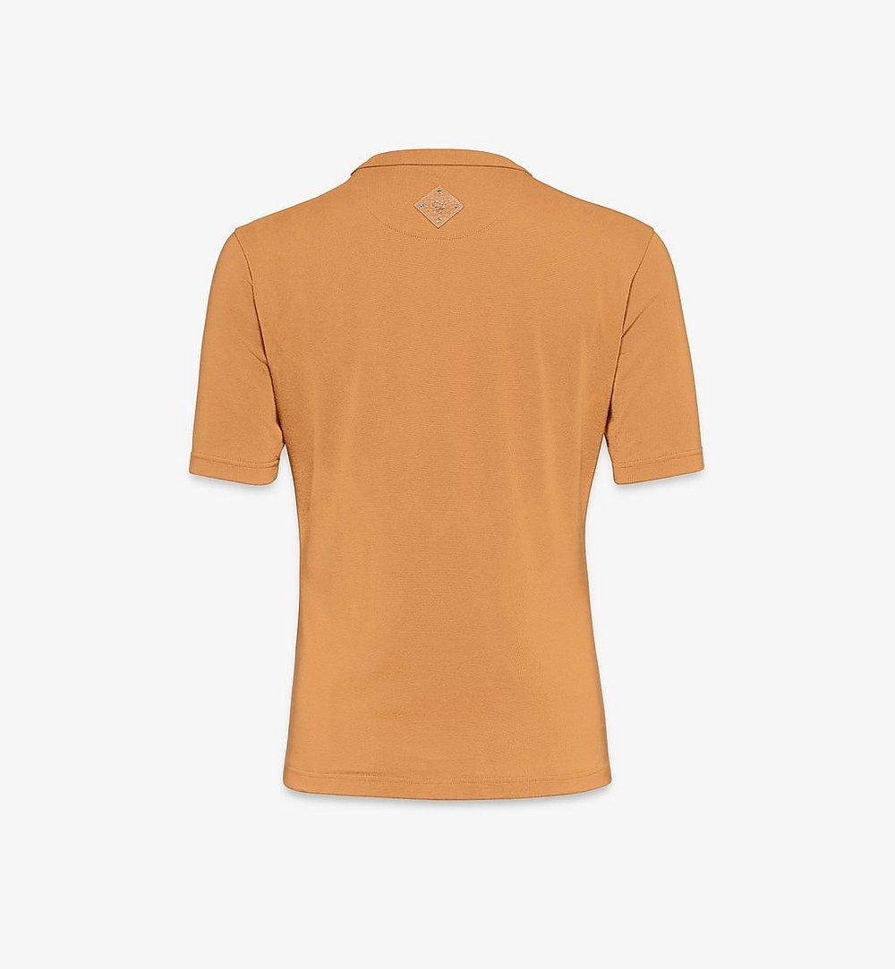 MCM Klassisches Damen-T-Shirt mit Logo Black MFTASMM03N400L Noch mehr sehen 1