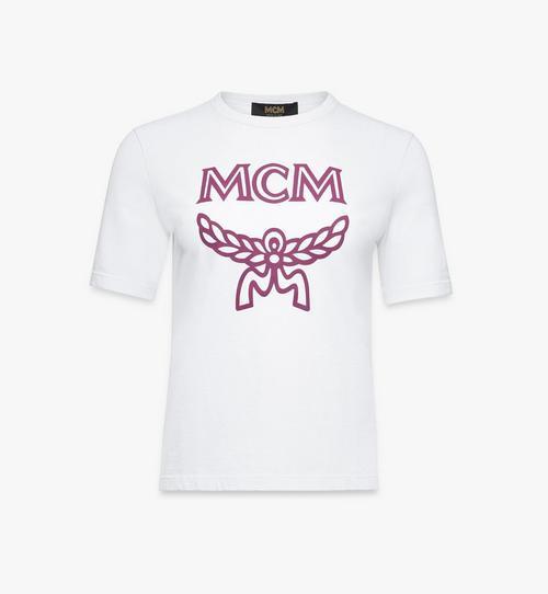 Klassisches T-Shirt mit Logo für Damen