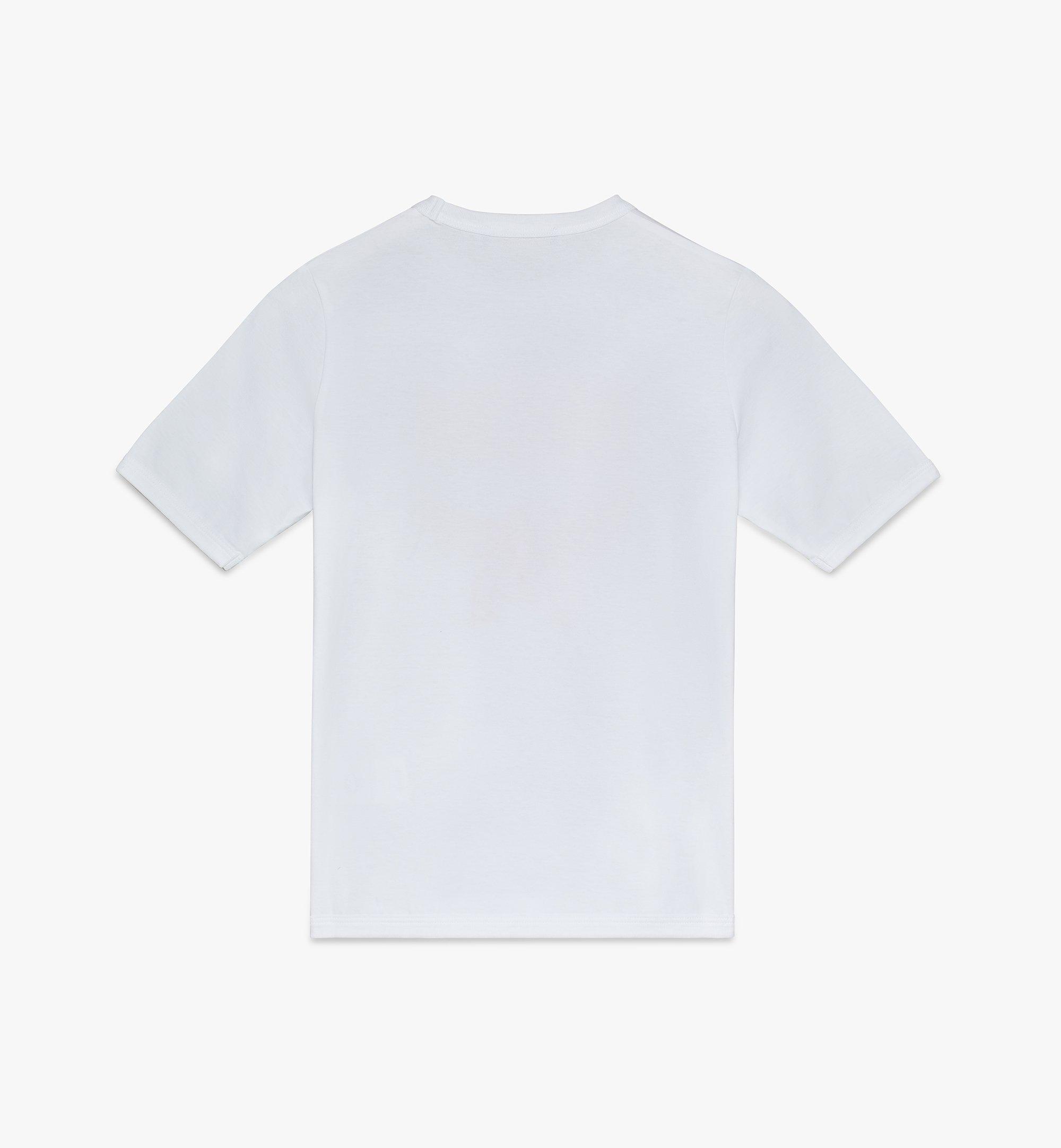 MCM Women's Logo T-Shirt White MFTASMM03WT00L Alternate View 2