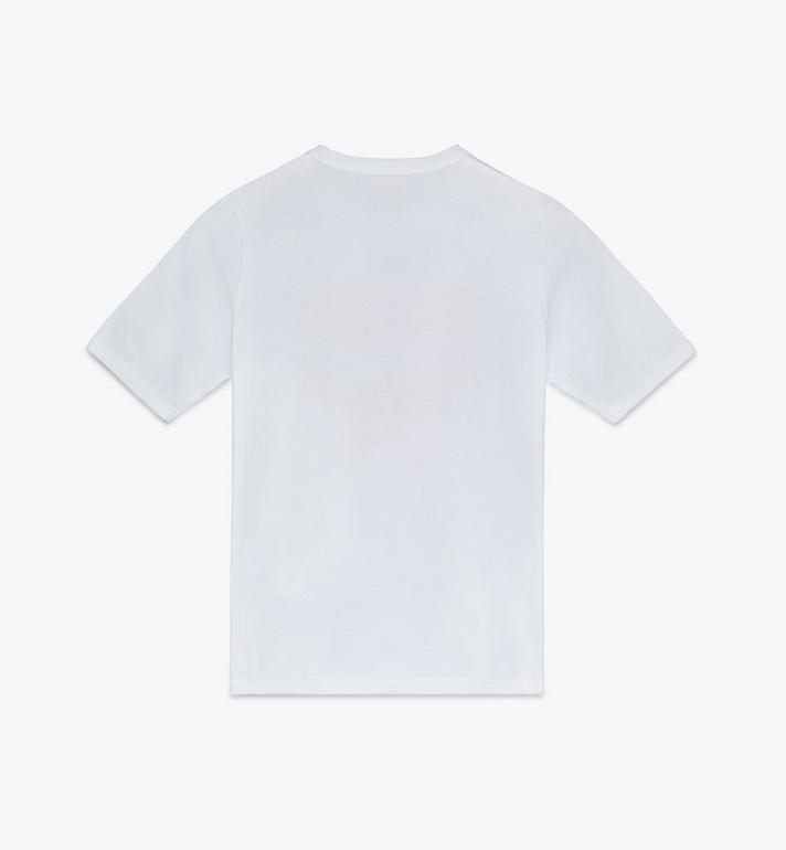 MCM Women's Logo T-Shirt White MFTASMM03WT00M Alternate View 2