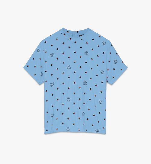 여성용 디스코 다이아몬드 하이 썸머 실크 티셔츠