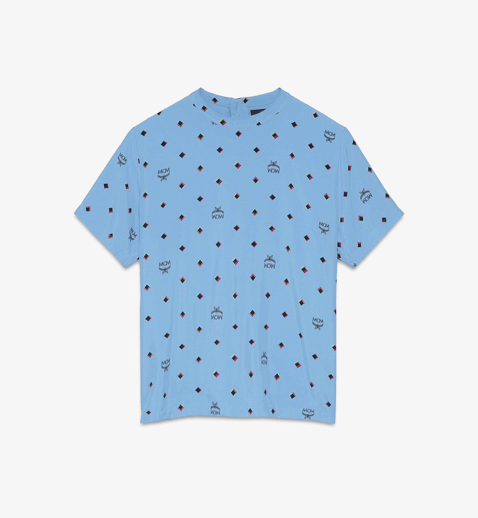 MCM 〈MCM 1976〉ウィメンズ ディスコ ダイヤモンドプリント Tシャツ  MFTASMV05H200M Alternate View 1