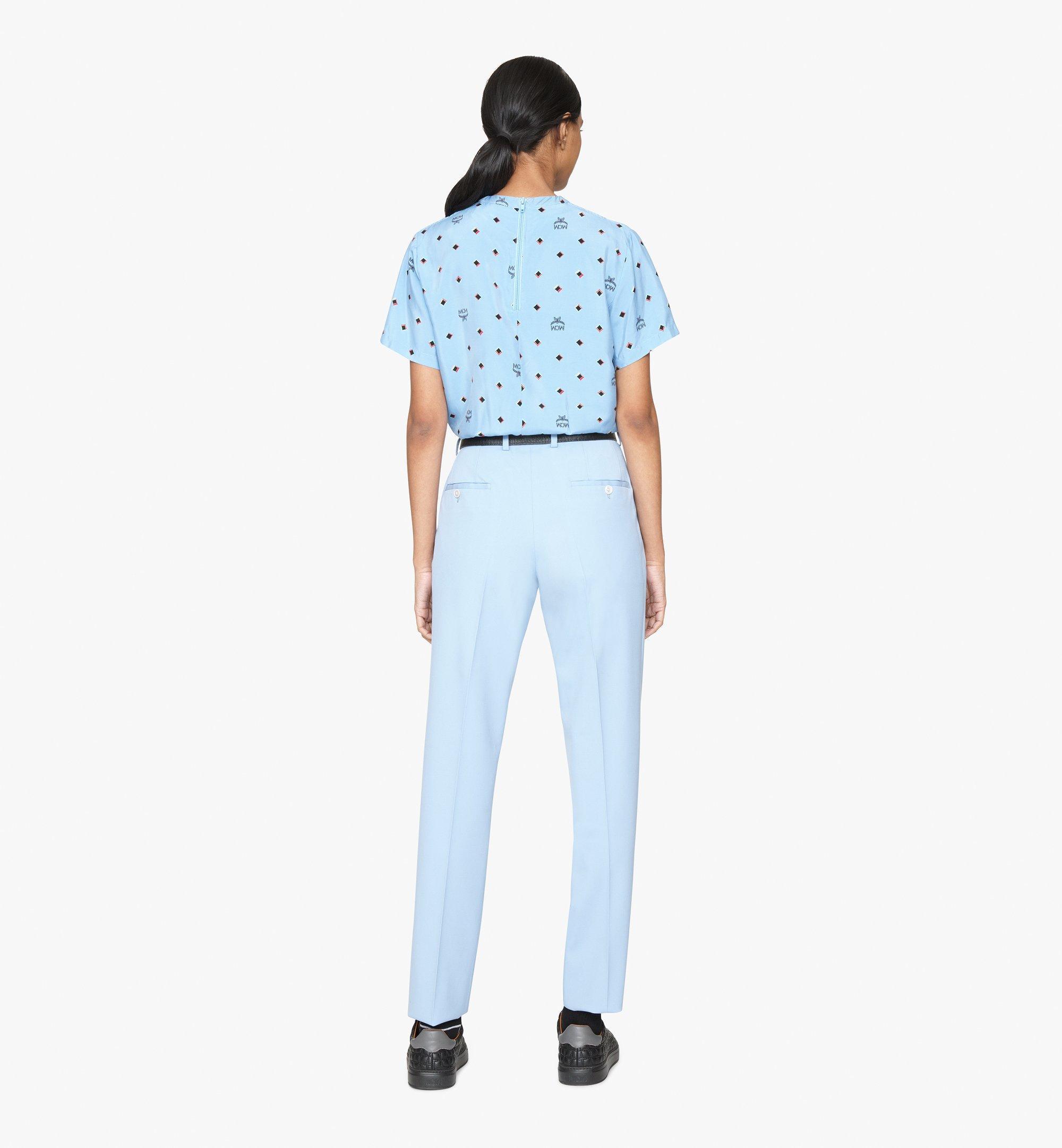 MCM 〈MCM 1976〉ウィメンズ ディスコ ダイヤモンドプリント Tシャツ  MFTASMV05H200M Alternate View 4