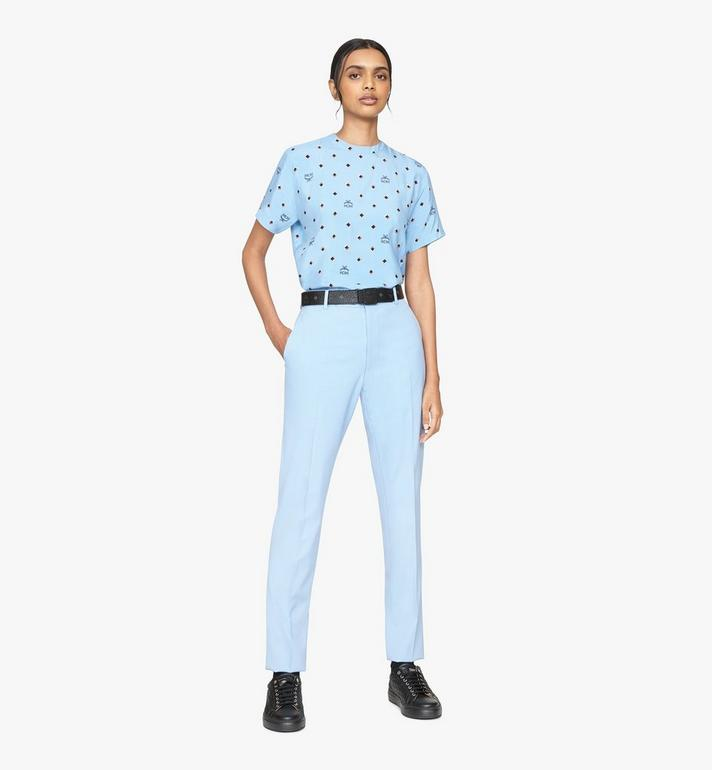MCM T-shirt 1976 Disco Diamond pour femme Blue MFTASMV05H200S Alternate View 3