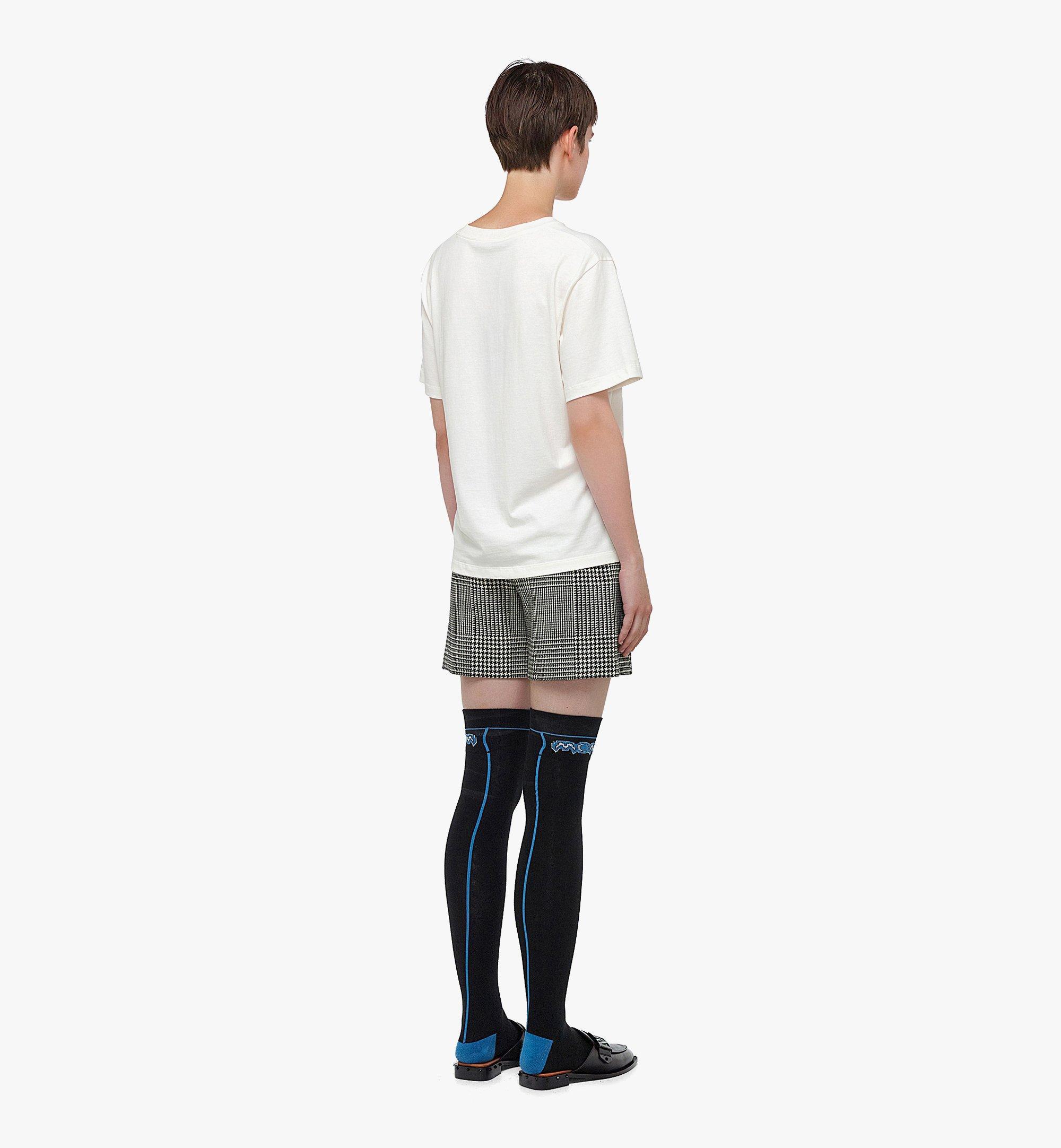 MCM T-Shirt mit MCM-Logo für Damen White MFTBAMM01WI00L Noch mehr sehen 2