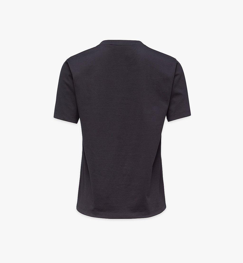 MCM T-Shirt mit geometrischem Lorbeerkranz für Damen Black MFTBSMM05BK00L Noch mehr sehen 1