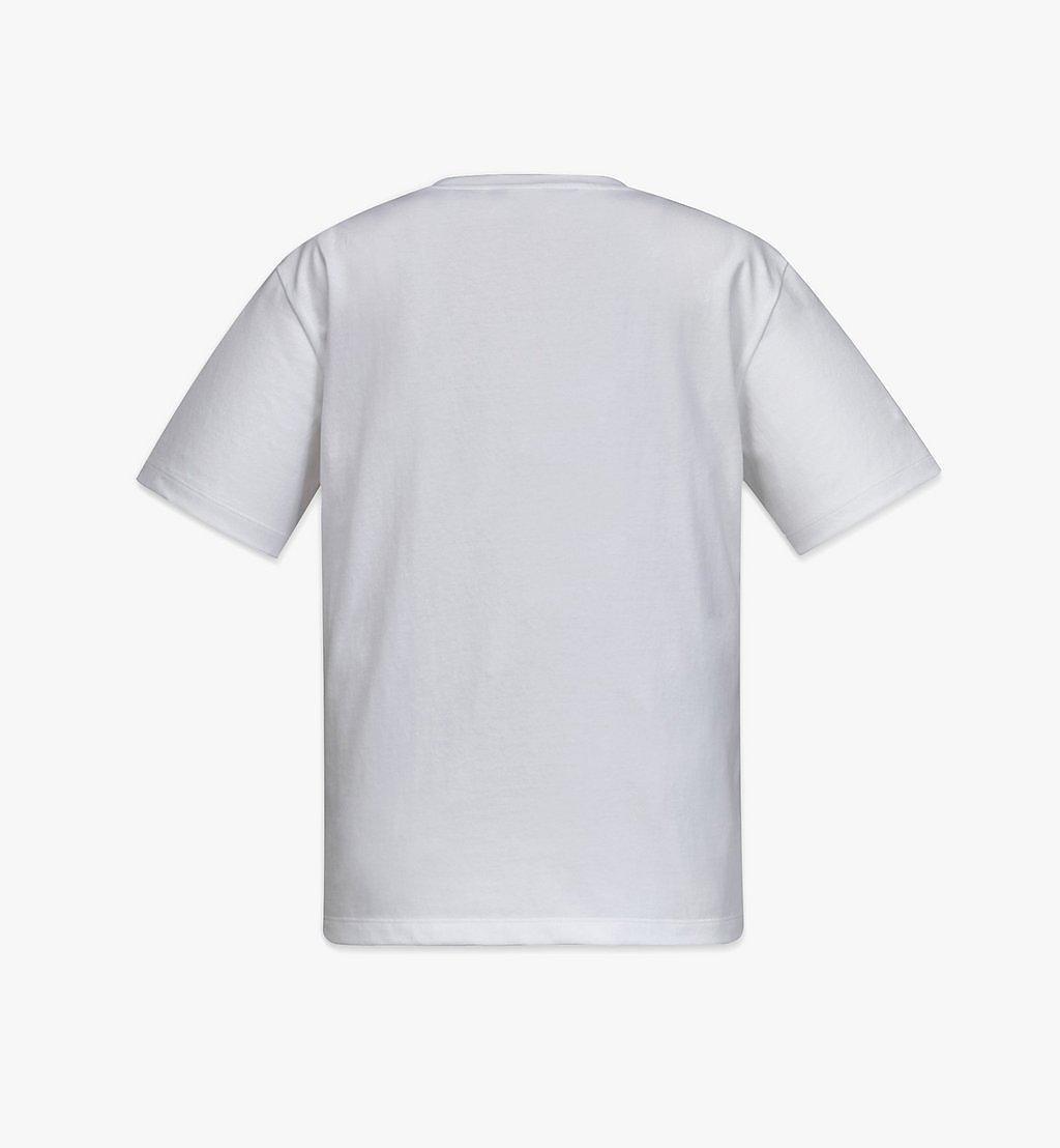MCM T-Shirt mit geometrischem Lorbeerkranz für Damen White MFTBSMM05WT00L Noch mehr sehen 2
