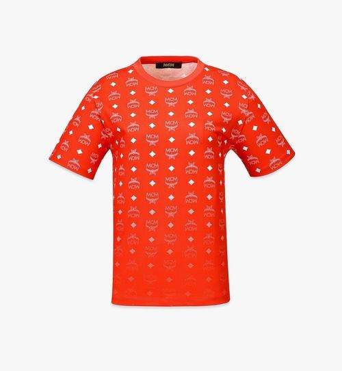 ウィメンズ グラデーション ヴィセトスプリント Tシャツ