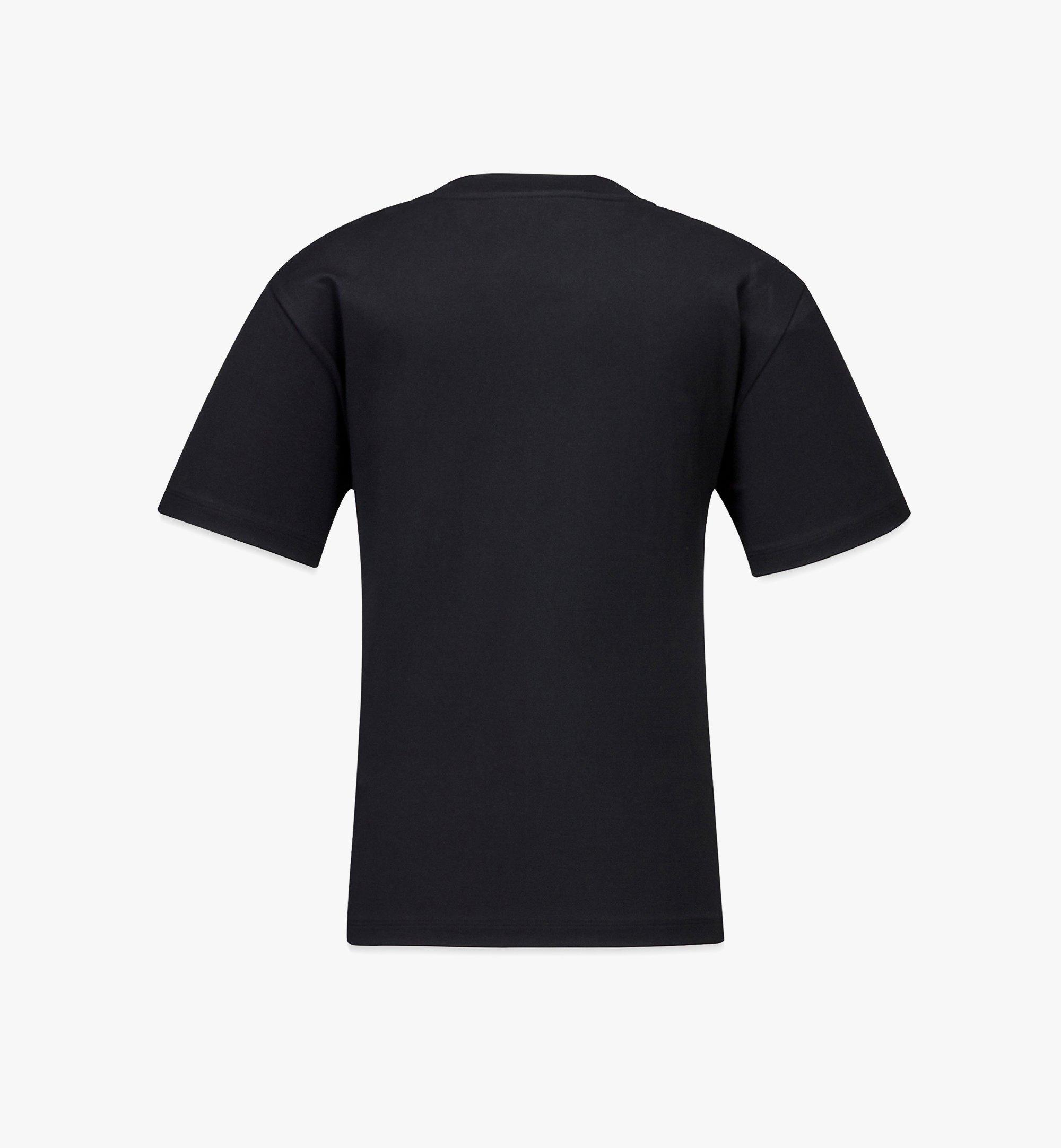 MCM 女士 Geo 塗鴉 T 恤 Black MFTBSMM07B200M 更多視圖 1