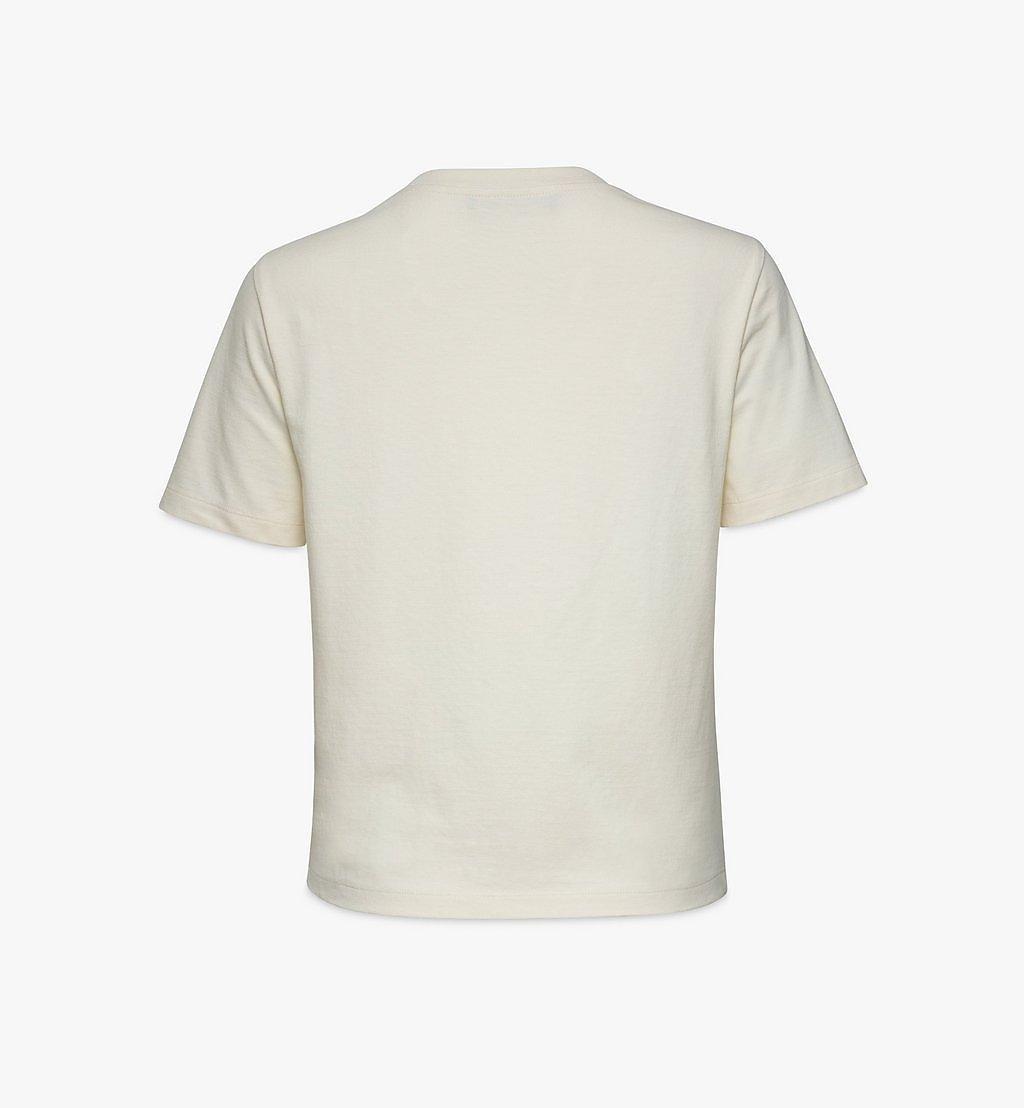 MCM T-Shirt mit geometrischem Graffiti für Damen White MFTBSMM07IO00L Noch mehr sehen 1