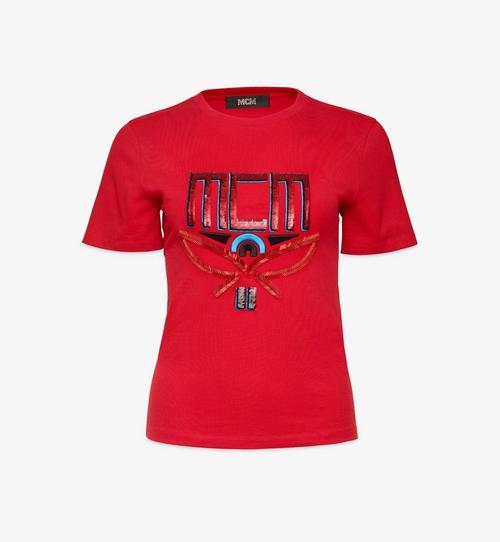 여성용 시퀸 지오 라우렐 티셔츠