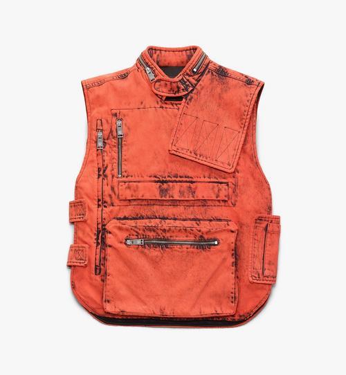 Women's Resnick Utility Vest in Denim