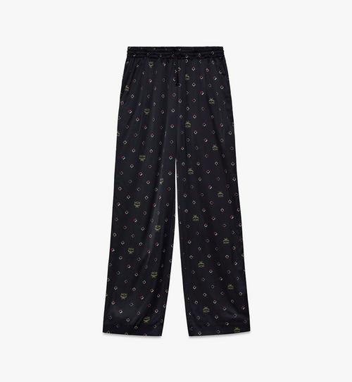 Pyjamahose mit Discorauten-Print für Damen