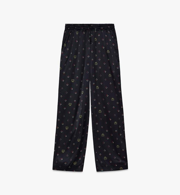 MCM Women's Disco Diamond Print Pajama Bottom Alternate View