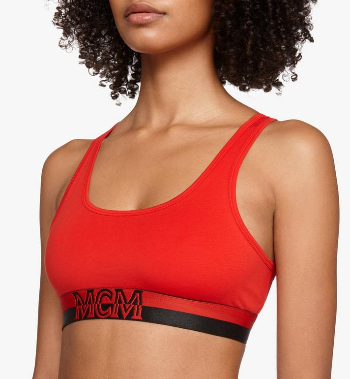MCM Women's 1976 Sports Bra  MFYASBM02RE00M Alternate View 2