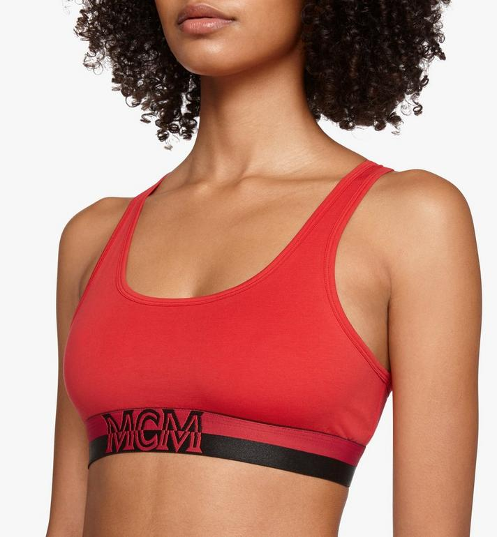 MCM Women's 1976 Sports Bra  MFYASBM02RE00M Alternate View 3