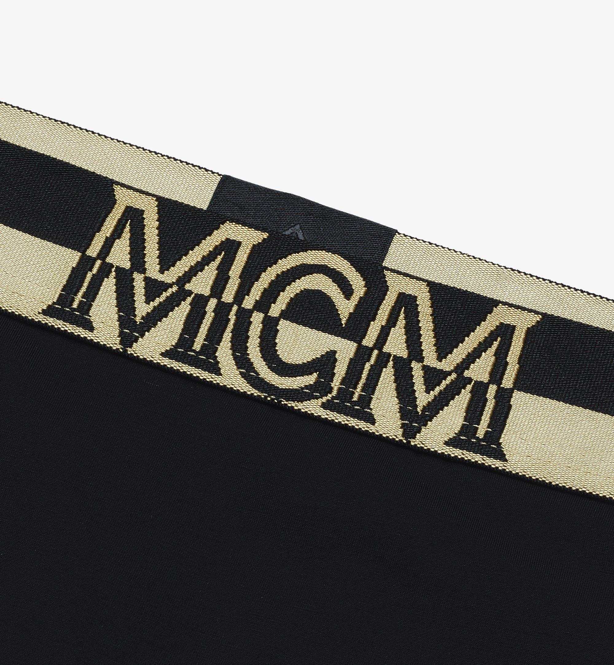 MCM Women's 1976 Thong Black MFYASBM03BK00M Alternate View 2