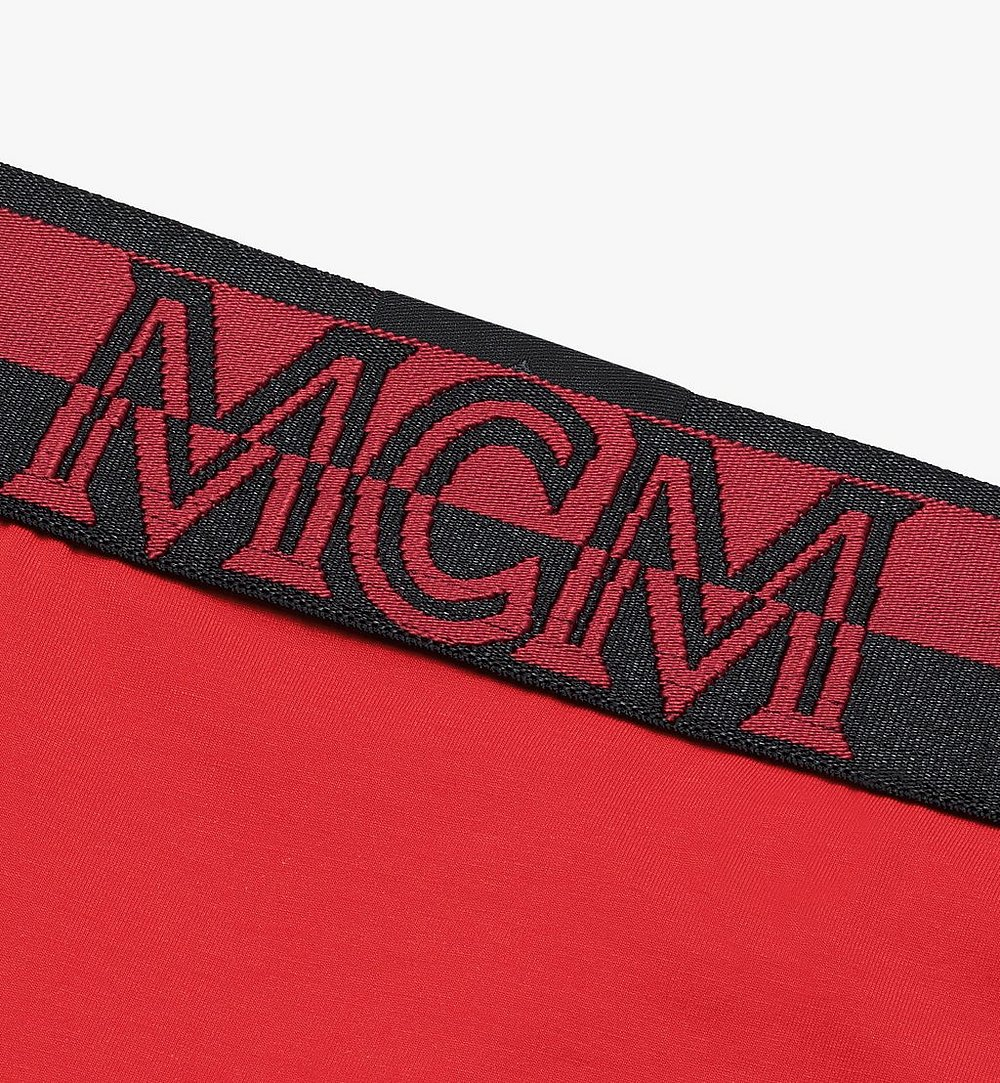 MCM Women's 1976 Thong Red MFYASBM03RE00M Alternate View 2