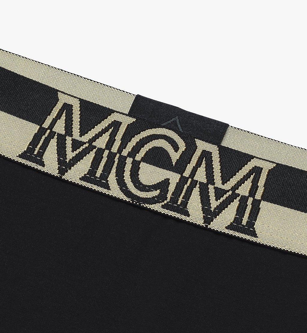 MCM 女士 1976 四角褲 Black MFYASBM04BK00M 更多視圖 2