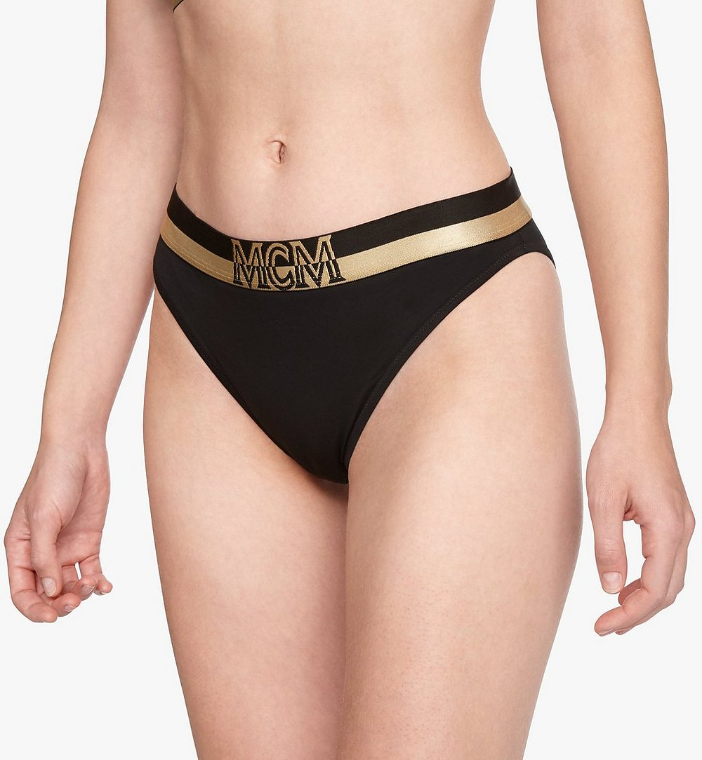 MCM Women's 1976 Briefs Black MFYASBM04BK00M Alternate View 2