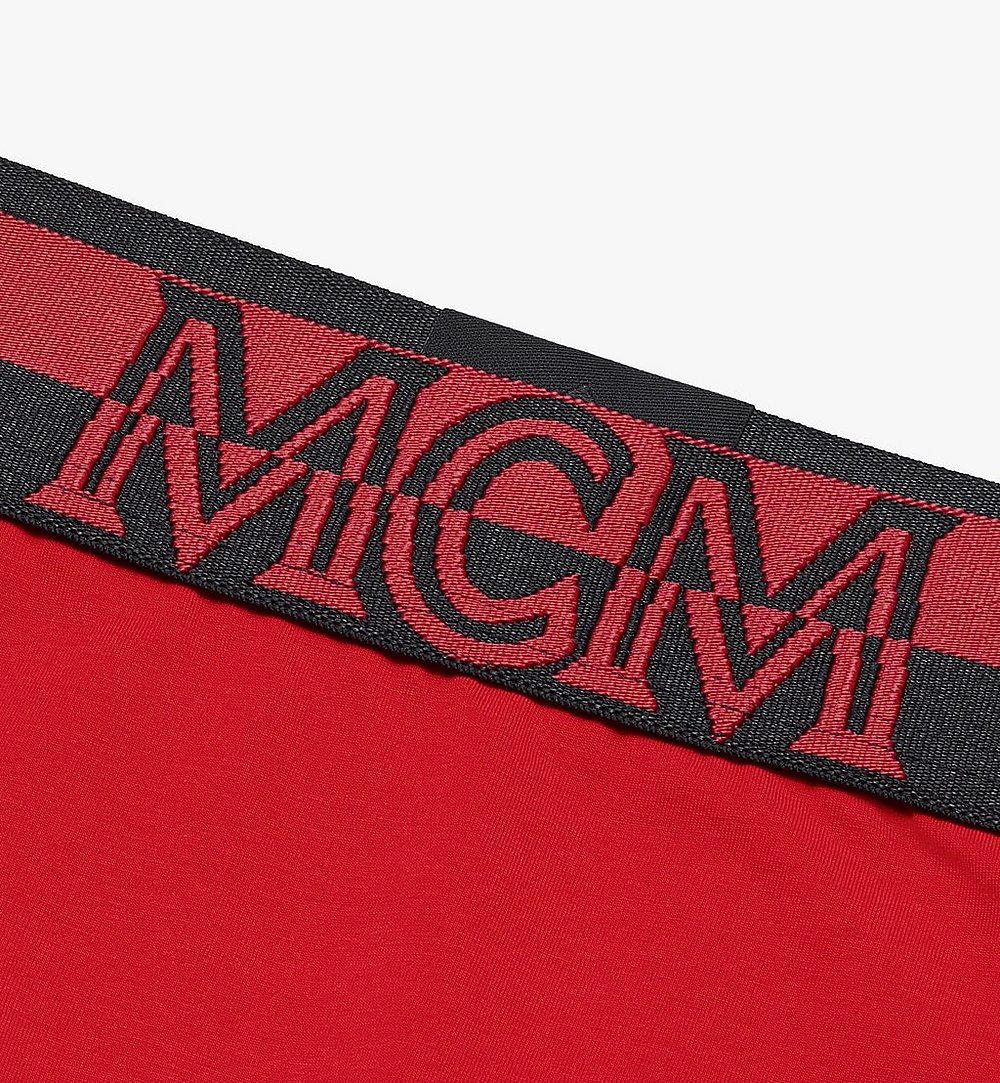 MCM Women's 1976 Briefs Red MFYASBM04RE00L Alternate View 2