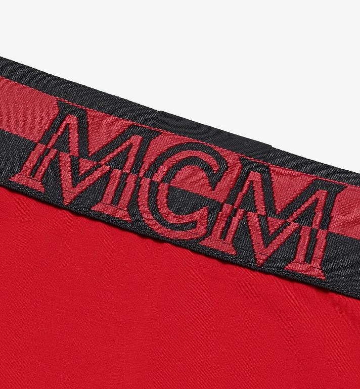 MCM Women's 1976 Briefs Red MFYASBM04RE00L Alternate View 3