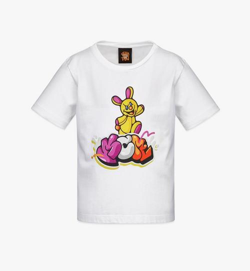 여아용 MCM x SAMBYPEN 애니메이션 프린트 티셔츠