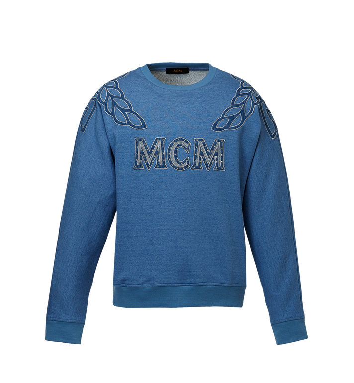 MCM MCM Denim Logo Sweatshirt Alternate View