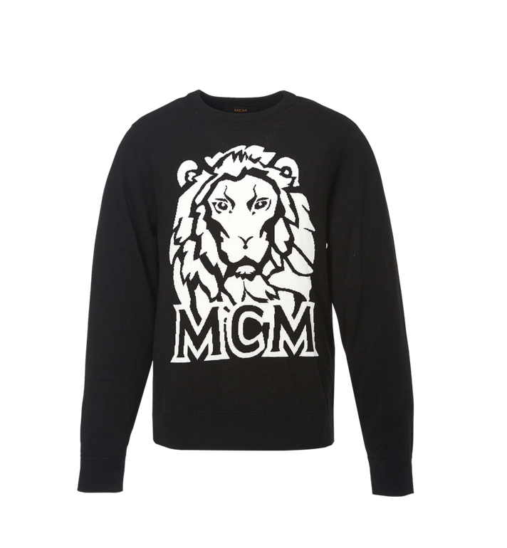 MCM Herren Intarsien Pullover Munich Lion Alternate View