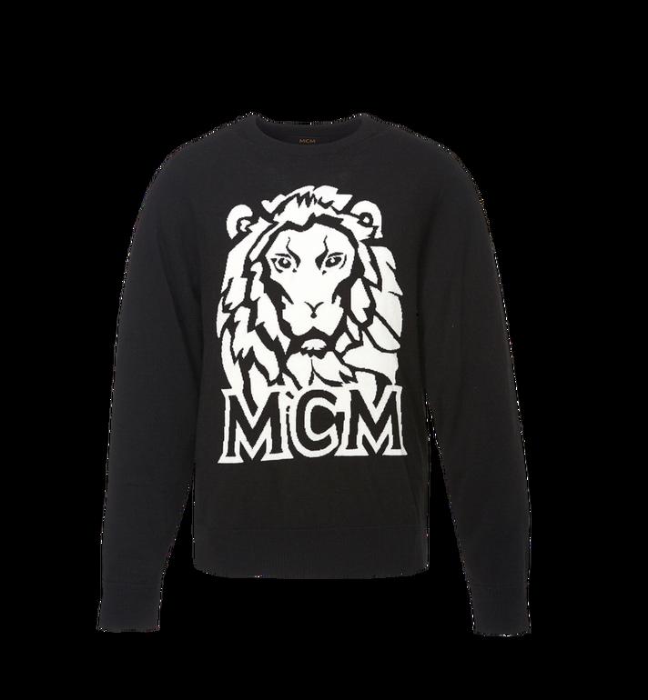 MCM Herren Intarsien Pullover Munich Lion MHA8AMM17BK00L AlternateView