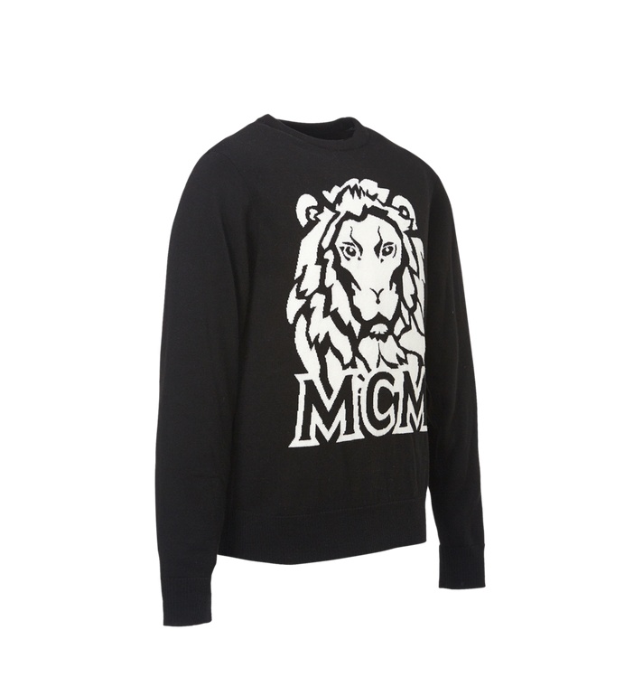 MCM Herren Intarsien Pullover Munich Lion Alternate View 2