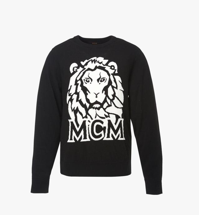 Men's Munich Lion Intarsia Sweater