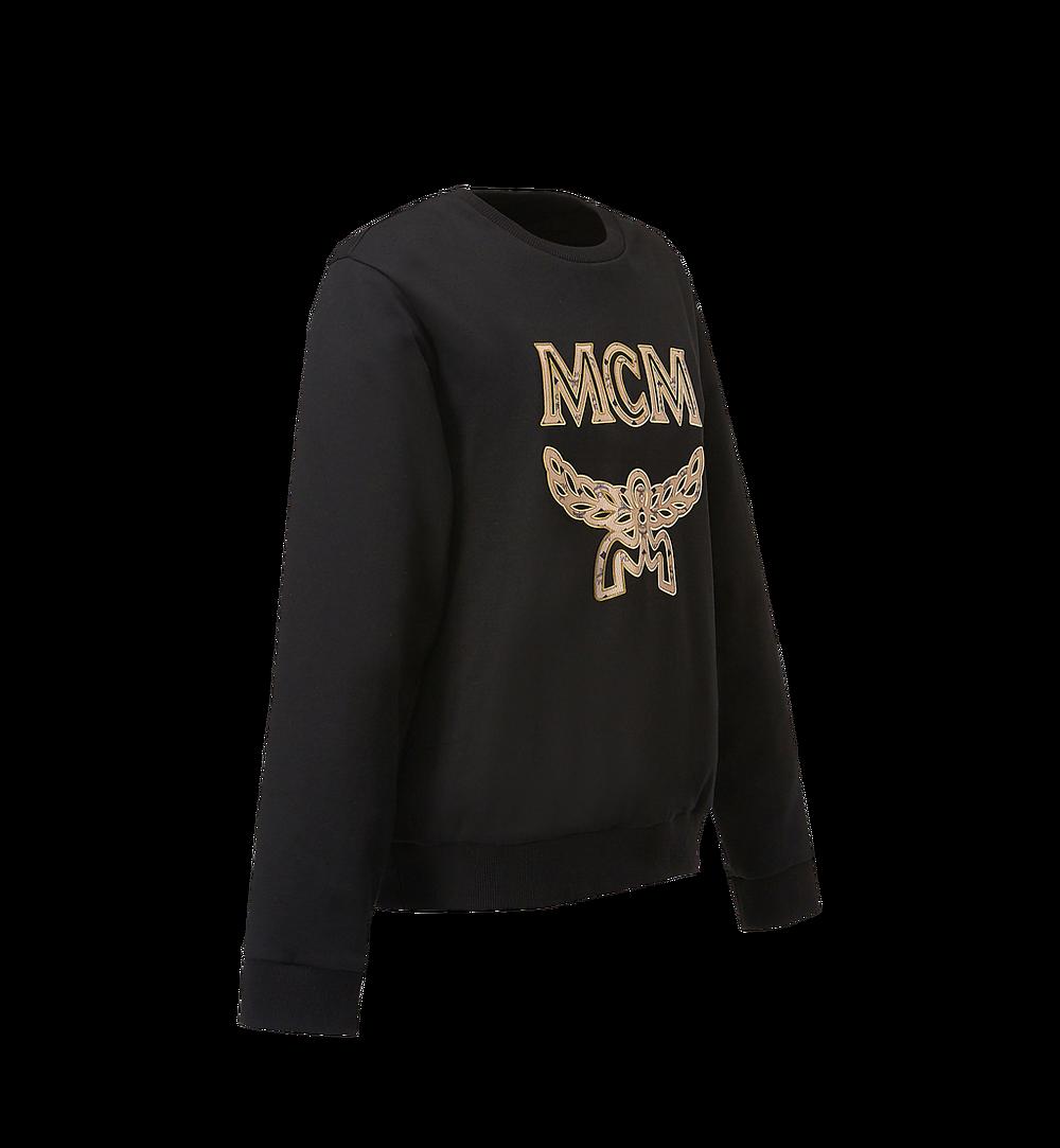 MCM Men's Classic Logo Sweatshirt Black MHA8SMM12BK0XL Alternate View 1